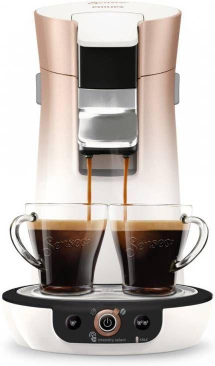Philips SENSEO® Viva Café Duo Select koffiepadmachine HD656630 rozekoper